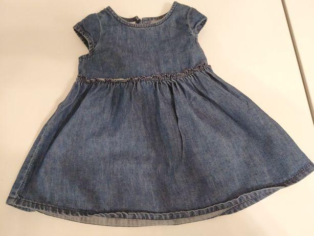 Sukienka Next rozmiar 68-74 stan idealny