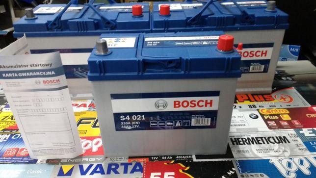 Akumulator Bosch S4021 12V 45Ah 330A B32 P+ dowóz montaż Kraków Azory