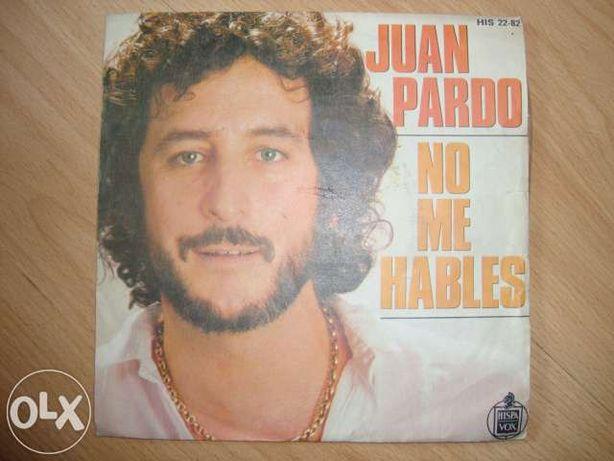 Disco vinil SP Juan Pardo