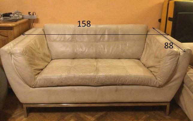 oddam za darmo- kanapa/sofa z eko-skóry