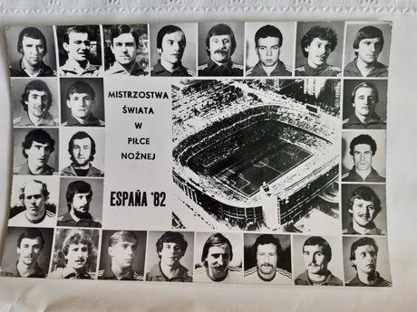 Mistrzostwa świata w piłce nożnej Espana 1982 zdjecie unikat