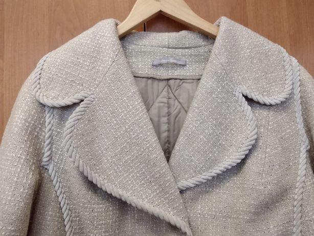 Демисезонные пальто красивого кофейного цвета, р.54-56