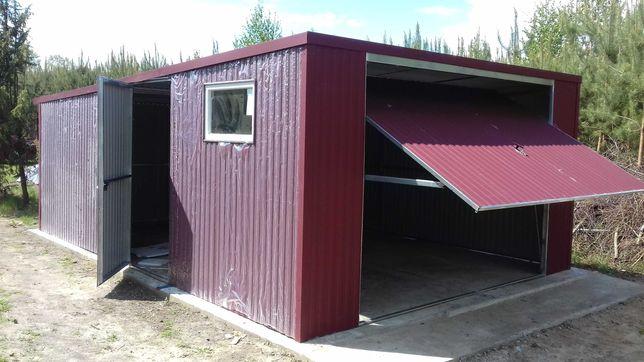 Garaż blaszany 4x5 od producenta, montaż GRATIS!