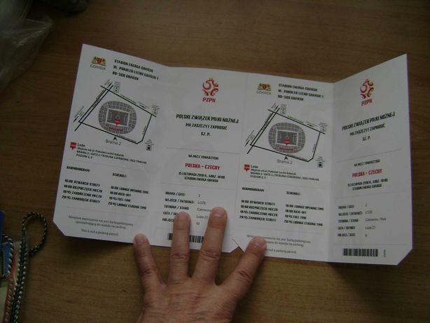Starocie z PRL Bilet na mecz Polska vs Czechy 15.11.2018 Energa Gdańsk