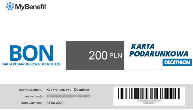 E-karta do Empiku bądź Decathlonu