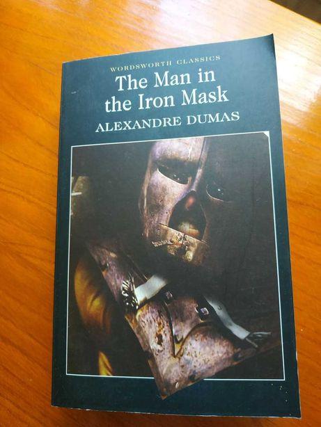 """Sprzedam książkę po angielsku """"The Man in the Iron Mask"""" Dumas"""