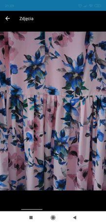 Sukienka w kwiety Mohito