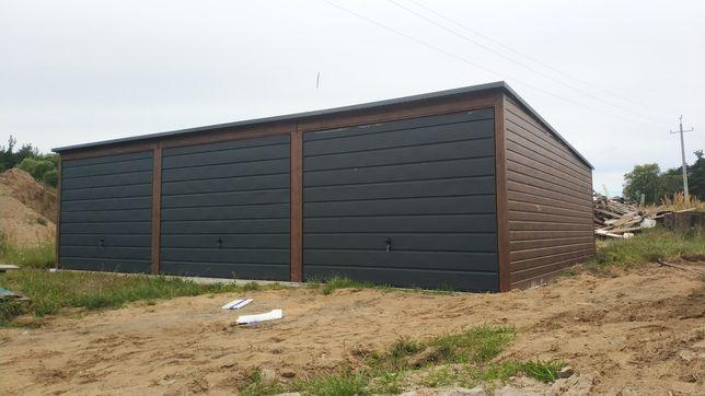 Garaż drewnopodobny 9x6 PROFIL!!! 4x6 5x6 6x6 7x6 8x6