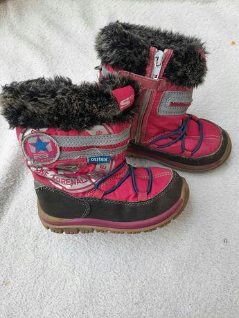 Дутики сапоги снегоходы на девочку. Зимние сапожки 24 р