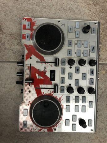Mesa DJ hercules MK4 (AVARIADA - ler descrição)