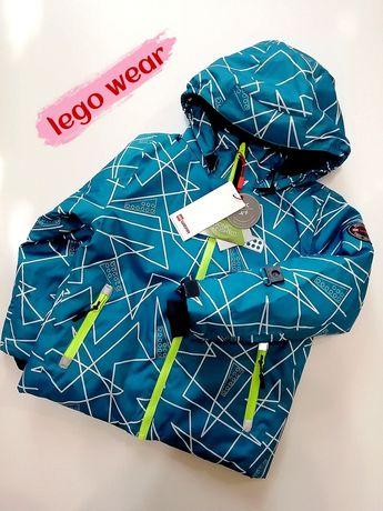 Зимняя лыжная мембранная куртка LEGO Wear для мальчиков р104-110 Reima