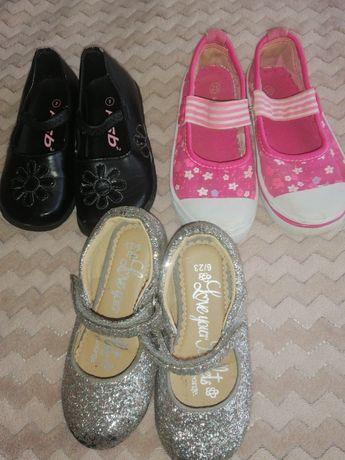 Взуття на дівчинку з 23 24 25 розміри
