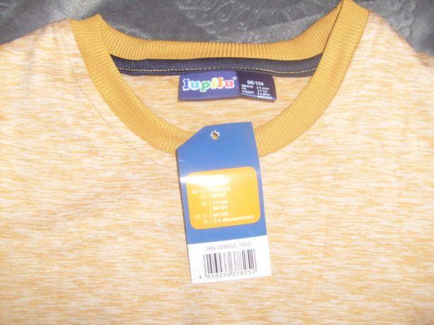 bluzka termiczna 98/104 lupilu nowa 2-4 lata