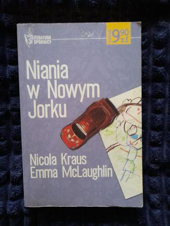 "N. Kraus E. McLaughlin ""Niania w Nowym Jorku"""