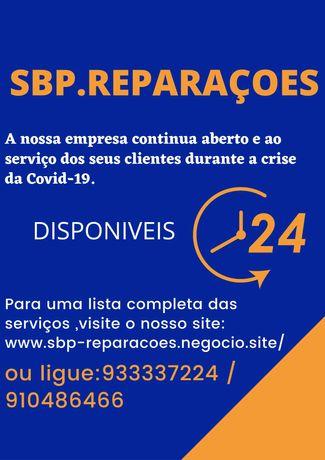 SBP.reparações deslocação gratuita