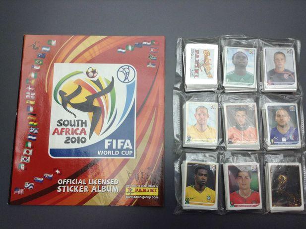 Caderneta World Cup Africa do Sul 2010 Panini Completa 638 cromos NOVA