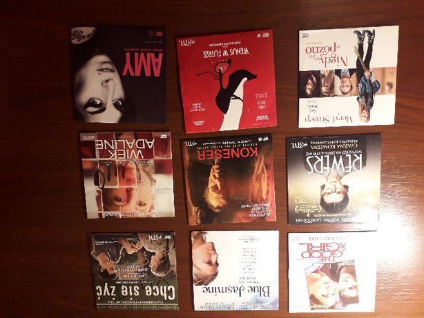 Zestaw 23 płyt DVD z filmami i serialami