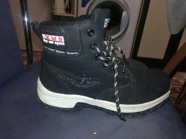 Зимние ботинки, Как новые, один раз одевали.