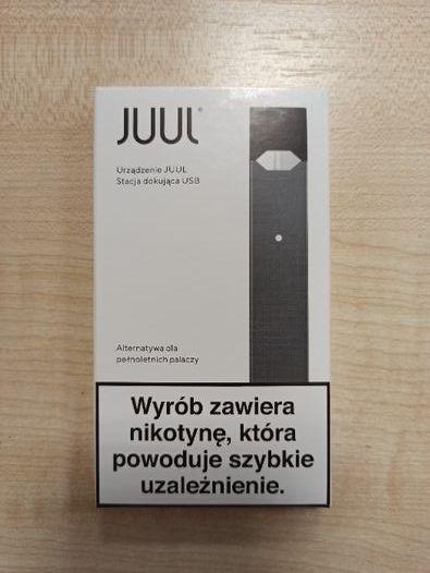 Pudełko po e papierosie juul