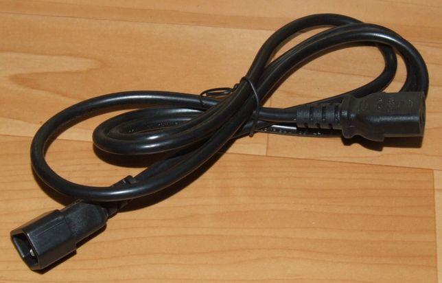 Kabel zasilający 230V 1,5 m przedłużacz TV sprz. RTV AGD komputerowego