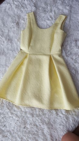 Żółta sukienka Top Secret rozmiar 36