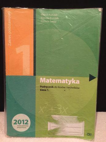 Matematyka podręcznik 1 klasa