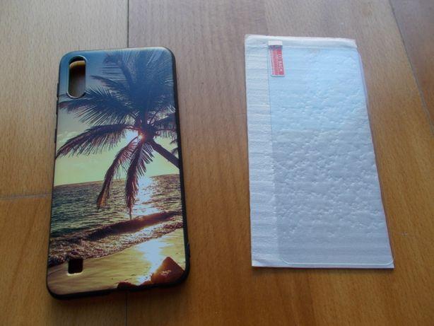 Capa telemóvel Samsung A10 + Película de proteção vidro
