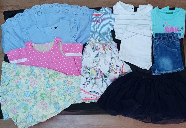Lote roupa verão 12/18 meses menina