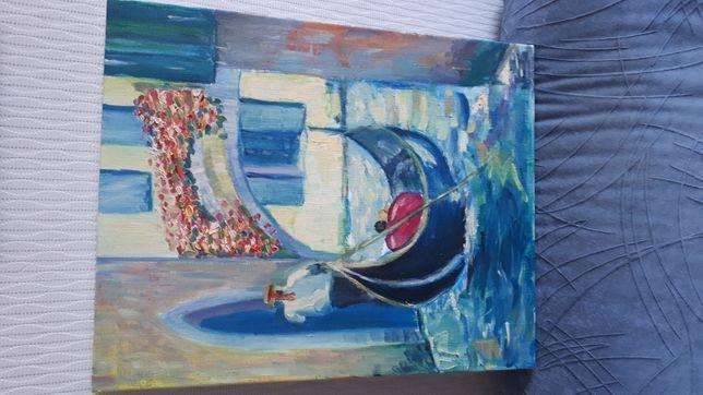 Продам картину маслом Венеция (Мечта)