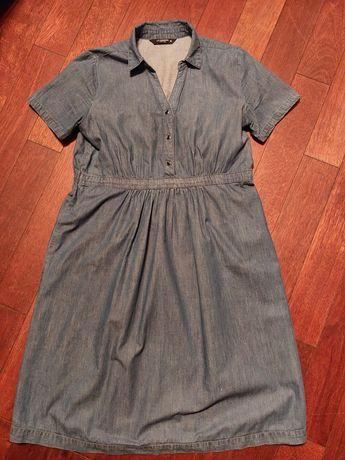 Sukienka jeansowa ciążowa roz.38
