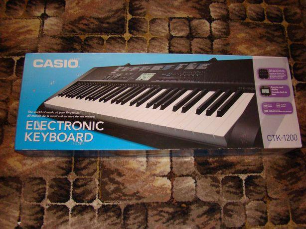 elektroniczny keyboard Casio