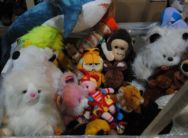 Большие мягкие игрушки 21 шт одним лотом цена за все в состоянии новых