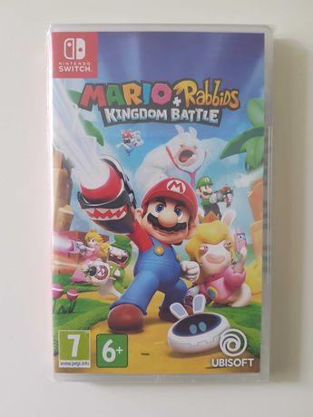Mario + Rabbids Kingdom Battle GRA Nintendo SWITCH FOLIA