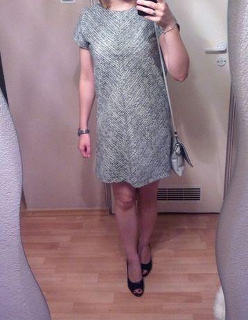sukienka ZARA + czerwona