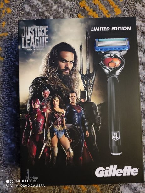 maszynka Gillette FUSION PROGLIDE edycja limitowana Justice League