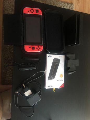 Nintendo switch 32 + 128 GB 4 pady CFW Atmosphere Przerobiona