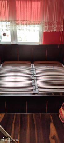 Duże łóżko sypialniane Vox Modern