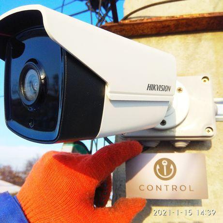Видеонаблюдение,камера,Hikvision,ip,turbo,замок