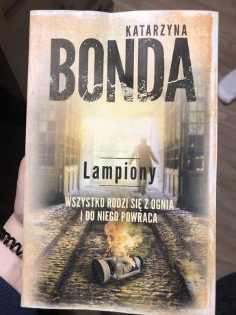 Książka Lampiony Katarzyna Bonda