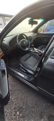 BMW E39 sedan wnętrze m pakiet rolety sportsitze alcantara Elek.Grzane