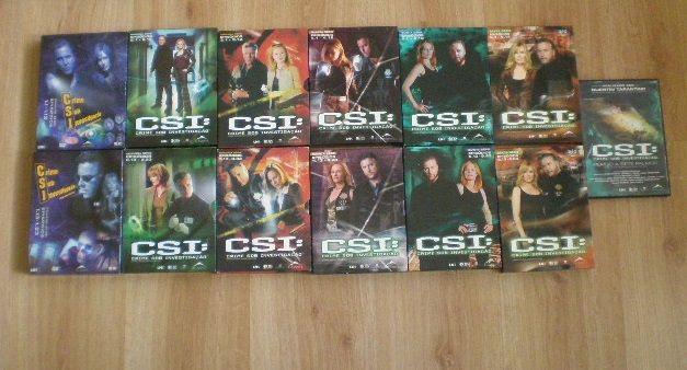 Série TV - CSI - da 1ªserie até 6ª serie + filme