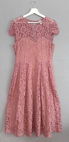 koronkowa sukienka h&m 42