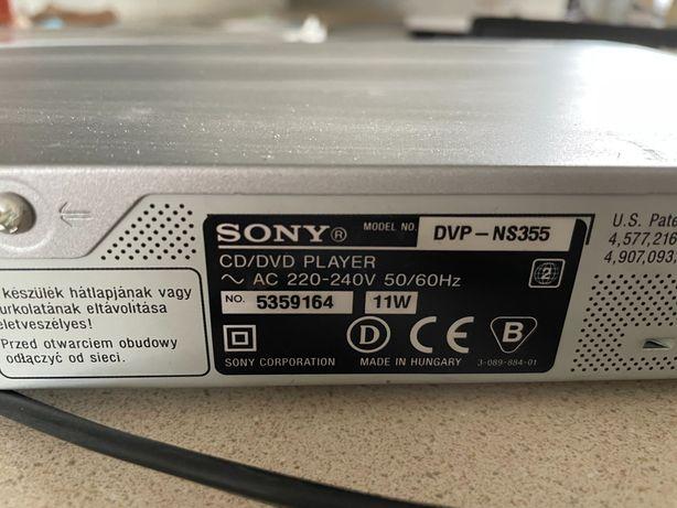 Dvd odtwarzacz Sony