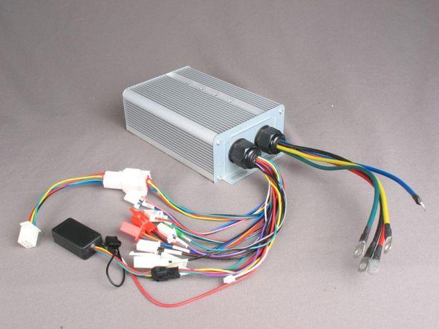 Контроллер для электровелосипеда 600-3600W 48-72V 12,5-50A + Bluetooth