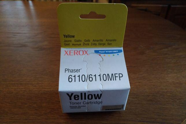 Oryginalny Toner Xerox 6110 Yellow (106R01204)