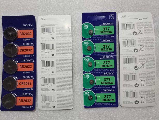 Pilhas Sony - CR2032 / 377 (SR626SW)