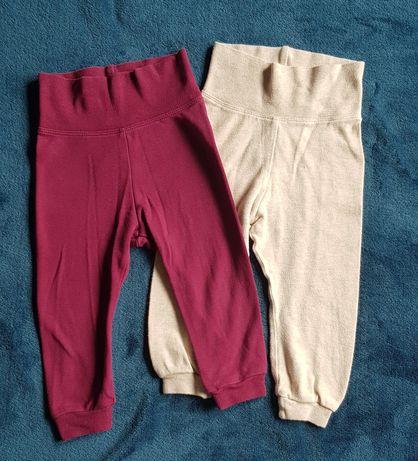 2xspodnie dla dziewczynki Lupilu roz. 74