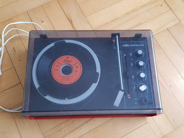 Gramofon Unitra Fonica WG-417 uszkodzony