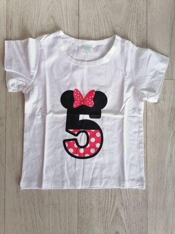 T-shirt, Koszulka urodzinowa(na 5 urodziny)