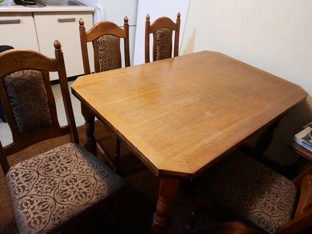 Stół Swarzędz z 6 krzesłami
